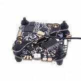 25.5x25.5mm FLYWOO GOKU GN413S Pilha AIO 2-4S F4 Controlador de vôo 13A ESC VTX625 25/50/100/200 / 450mW selecionável para palito de corrida FPV Drone