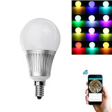Milight E14 5W RGB + CCT Dimmable WiFi APP Control de teléfono inteligente LED Global bombilla AC85-265V
