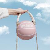 Cadeias de futebol de basquete de moda feminina Casual Handbag Crossbody Bolsa