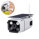 IP67 1080P HD solare Powered Wireless WIFI IP Surveillance fotografica Visione notturna esterna