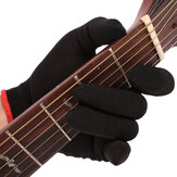 Fingertip Anti-pain Left Hand Guitar Glove Bass Glove Practice Fingertips Glove For Professional Beginner Musicians