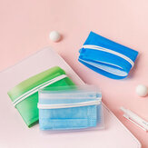 Colorful Portable Foldable Disposable Face Mask Storage Folder Box Small Watch Box Container Case