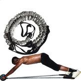 2 ks Multifunkční Ab Roller Pull Lanové hubnutí Fitness Odporové pásky Domácí sportovní nářadí