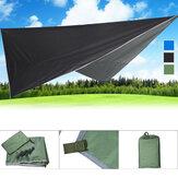 260x320 cm Outdoor UV Geçirmez Gümüş Kaplı Tente Çadır Güneş Koruyun Kalkan Plaj Tente Güneşlik Kampçılık Yürüyüş Için