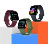 Zeblaze Crystal 3 1,3 tommers hjertefrekvens Blodtryk Oxygen Monitor USB Opladning Super letvægt Smart Watch
