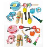 Набор из 10 музыкальных инструментов Perffsion Xylophone Set для детей