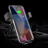 10W Qi Wireless Charger Fast Charging Quick Charge 3.0 Gravity Air Vent Car Phone Holder For Smart Phone iPhone Samsung Huawei