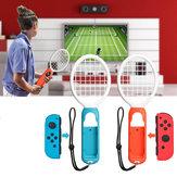 1 زوج التنس غمبد ABS لعبة تحكم الألعاب الرياضية قبضة مضرب التنس ممارسة معدات