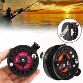 Mini Fishing Reel Portable Travel Hunting Fishing Tackle Fishing Tools
