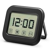 KCASA KC-CKT1000 Digital Kitchen Timer Large Touch Sensor LCD Display Magnetic Backing Loud Clock