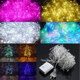 AC220C AU Plug 8 modów 10M 100 LED Fairy String Light Christmas Holiday Decor Wodoodporna