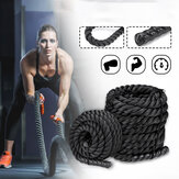 38mmx3m Heavy Battle Rope Fitness Climbing Strength Training Undulation Exercise Tools