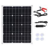 Panel słoneczny z monokrystalicznego krzemu 50 W Podwójny wodoodporny panel słoneczny USB 12 V / 18 V do RV na zewnątrz
