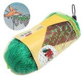 4 x 10m Zielony Anti Bird Net Lekka ochrona nylonowa Uprawa kwiatów siatki ogrodowej