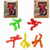 Stikbot Sucker Suction Cup Funny Deformable Sticky Robot Action Figure Toy