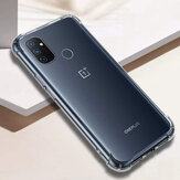 Bakeey for OnePlus Nord N100 Case with Air Bag Shockproof Transparent Non-Yellow Soft TPU Protective Case