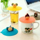 Silicone tazza di caffè tenuta tappo coperchio di aspirazione ermetico sigillato copertura della tazza
