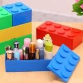 Mini praktikus műanyag kirakós barkácsolás szuperpozíciós tévés távirányító kozmetikai palackok tároló doboz