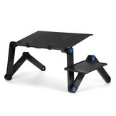 Adjustable Laptop Stand Desk Notebook Bracket Fan Cooling Pad Game Notebook Base with Mouse Board for below 17