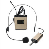 UHF 40 Channel Wireless Microphone Headset Mic for KTV Stage Conference Teaching