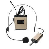 KTVの段階の会議の教授のためのUHF 40チャネルの無線マイクロフォンのヘッドホーンMic