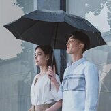 90Fun 8K Automatic Reverse Folding Umbrella Led Luminous Windproof Wind Resistant Umbrella UPF50 + Anti UV Von Xiaomi Youpin