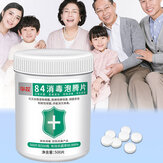 500pcs 84 Iinstant Disinfectant Tablets Effervescent Safety Clean Home Protection