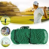 2M x 2M Golf Practice Net Nylon Netting Straps Easy to Fasten Net Rope Border Heavy Duty Impact Mesh Netting