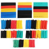328pcs Heat Shrink Tubing Insulation Electrical Shrinkable Tube Sleeve Cable 2:1