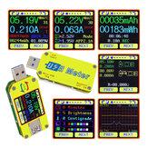 RIDEN® UM34C For APP USB 3.0 Type-C DC Voltmeter Ammeter Voltage Current Meter Battery Charge Measure Cable Resistance Tester
