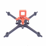 FONSTER Apro 125mm 3 Inch X Type Toothpick Frame Kit 16x16mm / 25.5x25.5mm Mounting Hole compatible Runcam Nano 3 14.6g