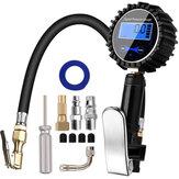 Bomba de compresor de aire con indicador de presión de inflador de neumáticos digital 200PSI, acoplador de conexión rápida para camión Coche Moto