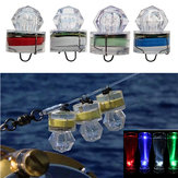 ZANLURE 1PC LED Deep Sea Diamond Night Vissen Lamp Onderwater Mini Transparant aantrekken van licht