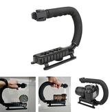 U-vorm Arbeidsbesparende verstelbare zaklampbeugel voor Astrolux MF01 MF01S MF02 MF02S zaklampstandaard Video-handgreep met handgreep ABS Spons Fotografische apparatuur