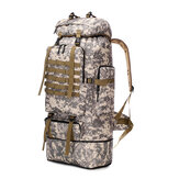 100L Large Capacity Tactical Backpack Camping Climbing Hunting Waterproof Rucksack