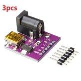 3pcs 5V mini connecteur d'alimentation USB carte de prise d'alimentation CC CJMCU pour Arduino - produits qui fonctionnent avec les cartes officielles Arduino
