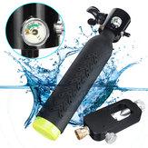 Mini Duikuitrusting Cilinder Zuurstoftank Duikuitrusting W / Luchtadapter Ademventielfittingen Set