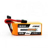 CNHL Ministar 1800mAh 6s 120c Lipo Batería para FPV Racing RC Drone