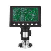 2020 Più nuovo 1080P DM7 HD Lente d'ingrandimento industriale del microscopio digitale 1000x dello schermo da 4,3 pollici fotografica