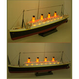 NQD 757 1/325 2.4 Г 80 см Моделирование Титаник RC Лодка Электрический Корабль Модель со Светом РТР Игрушки