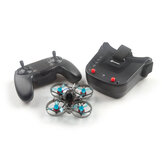 Eachine Novice-I 75mm 1-2S Whoop FPV Racing Drone RTF & Fly mais c / WT8 2.4G Transmissor 5.8Ghz 40CH VR009/VR005 Óculos