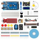 Geekcreit® Scratch Super Base Kit لـ Arduino IDE MEGA2560 مع 30 درسًا تعليميًا متوافق مع Mixly Mblock Magicblock