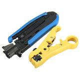2db koax koaxiális kábel Crimper & Stripper többfunkciós kézi működtetésű eszközök