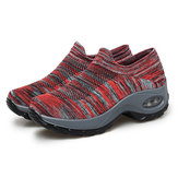 Mesh Breathable Cushioned Walking Sneakers For Women