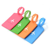 KCASA KC-LP09 Silicone Travel Luggage Tags Colorful Silicone Label Koper Travel Accessories