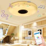 36 واط 60 واط الحديثة LED موسيقى السقف ضوء بلوتوث المتكلم متعددة اللون نوم مصباح ac220v