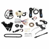 24V 250W Electric Bike Conversion Scooter Motor Controller Kit For 22-28inch Ordinary Bike
