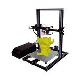 KREATEIT ® KR-10S Thor DIY 3D-printerset 300x300x400mm Grote printgrootte met dubbele Z-as / Off-line print / aluminium verwarmd bed