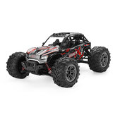 Xinlehong 9137 1/16 2.4G 4WD 36 km / u Rc Auto W / LED Light Desert Off-Road Monster Truck RTR Speelgoed