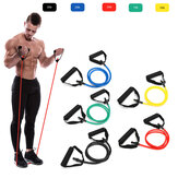 1Pc 10/15/20/25 / 30lb Fitness Resistance Bands Fitness Elastic Bands Training Yoga Pilates Bands